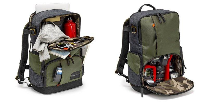Capacidad Manfrotto Street dSLR Backpack - La Mochila del fotografo urbano