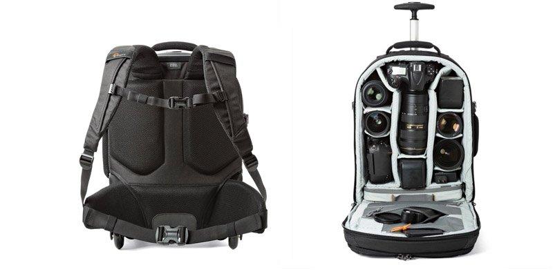 Capacidad Lowepro Pro Runner RL x450 AW II - Las mejores mochilas para camaras