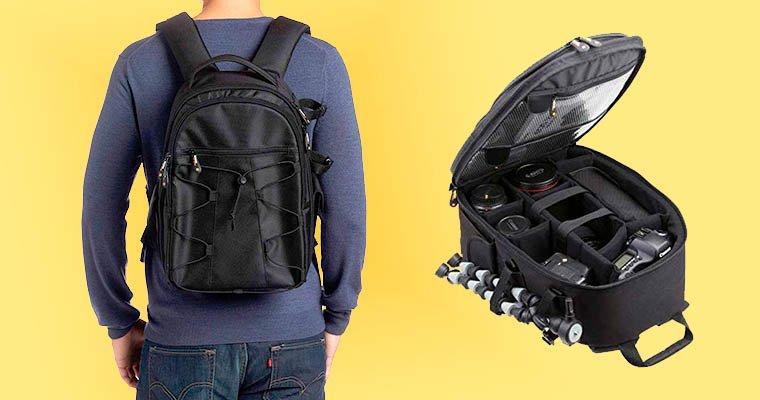 mochilas baratas para camaras reflex