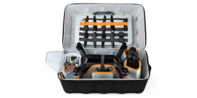 Capacidad mochila para drone Lowepro DroneGuard CS 400
