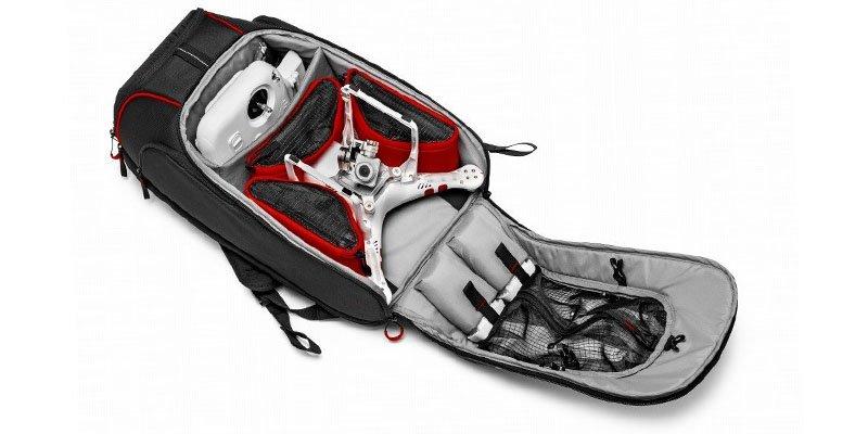 Capacidad mochila para drone Manfrotto D1