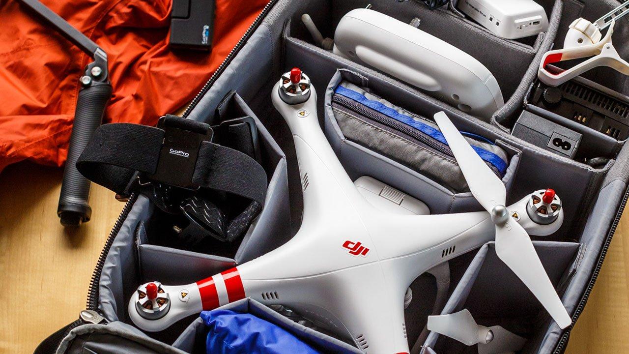 Como transportar drone de forma segura