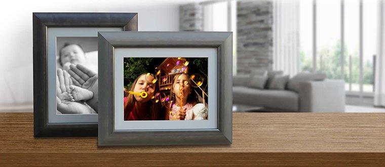 los mejores marcos digitales para fotos