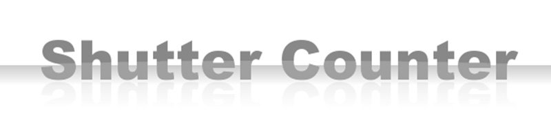 shutter counter contador online para disparos de camara